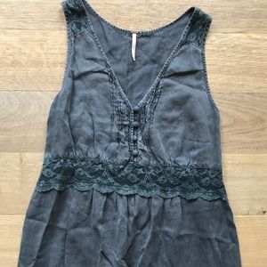 Free People sweet boho dress w lace detail